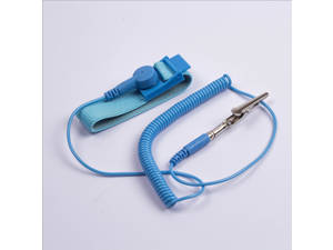 5PCS Anti Static ESD Wrist Strap Discharge Band Grounding Prevent Static Shock Electricity Grounding Wired Wristband