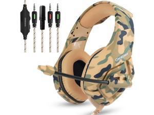 Gaming Headset With Mic For XBOX One PS4 Headphones Microphone Beats