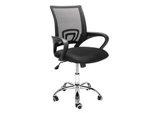 Office Chair Computer Desk Chair Gaming - Ergonomic Mid Back Cushion Lumbar Support with Wheels Comfortable Mesh Racing Seat Adjustable Swivel Rolling Home Executive for Relief Back Pain