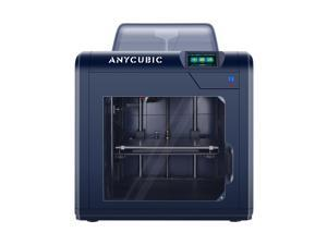 ANYCUBIC 3D Printer, 4Max Pro 2.0 Upgraded Metal FDM 3D Printer, Fully Enclosed, TFT Touchscreen, Ultra-Silent, Works with ABS/TPU/PLA/Hips Filament, 10.63''(L) x 8.27''(W) x 7.48''(H) Printing Size