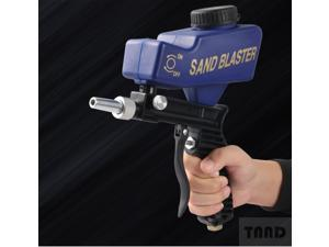 Pneumatic sandblasting gun, suitable for all explosive projects, removes paint, stains, rust, surface dirt and cleans the swimming pool