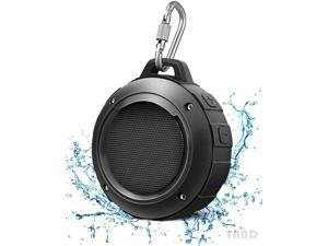 Outdoor waterproof Bluetooth speaker Wireless portable mini shower travel speaker with subwoofer, enhanced bass and built-in microphone, suitable for sports, swimming pool, beach, hiking and camping