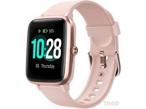 Smart watch, fitness tracker, heart rate monitor, activity tracker, 1.3-inch touch screen, IP68 waterproof pedometer, sleep monitor, pedometer,