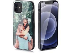 Personalized Photo Phone Case Customized Photo Shockproof Protective Cover Case for iPhone 12/11 /Xs/Xr/X/8/7/6/6s/Plus/Pro Max to Christmas Gifts For He/Her iPhone 12 Pro