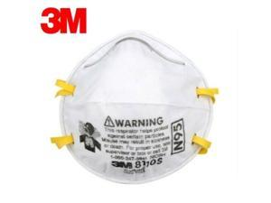 Pack of 5 3M Mask New Protective 3m8110s, N95 filtration, CDC recommended