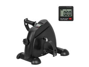 Mini Pedal Exercise Bike, Under Desk Elliptical Bicycle Trainer, for Indoor Home Leg Arm Workout