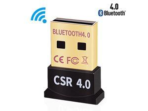 USB Bluetooth Adapter for PC - Hannord Bluetooth Dongle for PC Windows 10/8/7 - PC to Bluetooth Adapter - Bluetooth USB Receiver 4.0 for Computer/Laptop