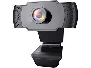 1080P Webcam with Microphone, Hannord USB 2.0 Desktop Laptop Computer Web Camera with Auto Light Correction, Plug and Play [30fps], for Video Streaming, Conference, Game,Study, Skype/YouTube/Zoom