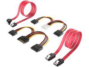 SATA Cable, Inateck SATA Data Cable and SATA Power Splitter Cable