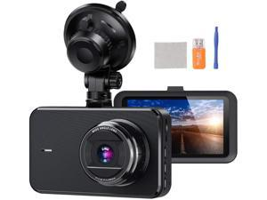 Dash Camera for Cars SSONTONG Dash Cam Front FHD 1080P DVR Car Driving Recorder 3 Inches IPS Screen 170°Wide Angle HDR Day and Night Vision Parking Mode Motion Detection