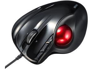 Bluetooth Trackball Mouse, Jelly Comb 2.4G USB Wireless & Bluetooth Ergonomic Mice Rechargeable with USB-C Port and 3 DPI for Computer Laptop Tablet Android Windows Mac