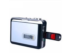 Portable Cassette Players ,Cassette Tape Player Convert to MP3 WAV Converter Cassette To USB Flash UDisk Audio Capture Music Player