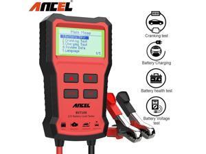 Ancel BST100 Car Battery Tester OBD2 12V Cell Cranking Charging test Diagnostic Tool 2000CCA 30-220Ah Battery System