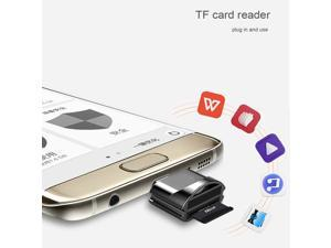 Mini Metal Card Reader Type-c Memory Card Reader OTG Connector Mobile Phone Connection USB 3.1 for Micro SD TF Card Support 128GB Portable