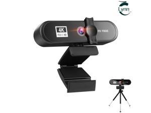 4K Conference PC Webcam Autofocus USB Web Camera Laptop Desktop For Office Meeting Home Live Broadcast Video Work With Mic 1080P HD Web Cam