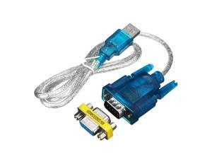 80CM USB To RS-232 DB9 9-pin Serial Cable Adapter Supports Win8