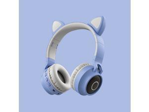 Gametober Cat ear bluetooth Headsets Wireless luminous earphone Computer gaming headset