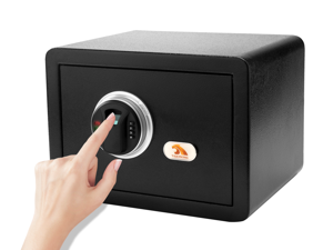 TIGERKING Fingerprint Safes Fingerprint Recognition System Lock Box Safes for Home, Hotel, Office