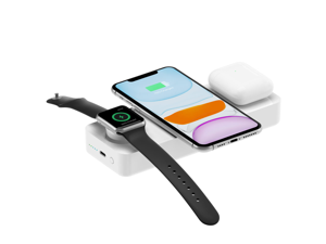 Einova by Eggtronic Power Bar I USB-C Wireless Power Bank with Apple Watch Charger