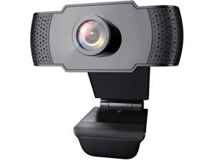 1080P Webcam with Microphone, USB 2.0 Desktop Laptop Computer Web Camera with Auto Light Correction, Plug and Play, for Video Streaming, Conference, Game,Study