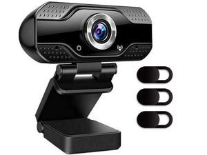 Full HD Webcam 1080P USB Web Camera PC Has anti-noise function with Built-in Microphone Manual focus for Computer Work Online Class Broadcast web cam