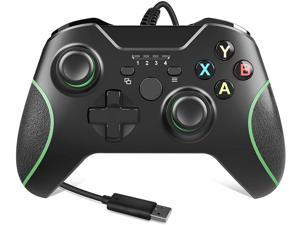Xbox One Controller,Wired Xbox Controller with Headphone Jack for Xbox Series S Xbox Series X Xbox One/S/X and Microsoft PC Windows 7. 10