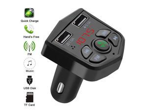 Bluetooth Handsfree Car MP3 Player Mobile Phone Charger Adapter
