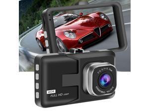 Car DVR 1080P HD 3 Inch Cycle Recording Dash Camera for Auto