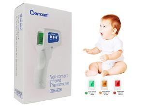 [US Stock] Forehead Thermometer Digital Infrared Temporal Thermometer for Fever, Non-Contact Termometro, Instant Accurate Reading for Baby Kids and Adults - 2020 Software Verson