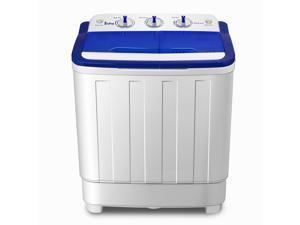 Portable Compact Mini Twin Tub Washing Machine 16LBS Spin Dryer