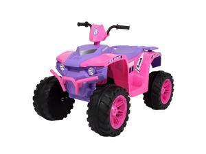 12V Kids ATV Ride On Car Toys Suspension , 2 Speeds , LED Light , Music