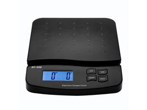 66 LB x 0.1oz Digital Postal Shipping Scale Weight Postage Counting + AC Adapter