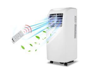8000 BTU Portable Air Conditioner With Dehumidifier ,White