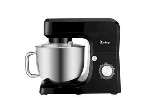660W 6 Speeds Stand Mixer with 7.5 Quarts Stainless Steel Mixing Bowl, Dough Hook, Flat Beater, Whisk