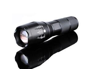 1200 Lumens Handheld LED Flashlight w/Adjustable Focus and 5 Modes, Outdoor Water Resistant, Tactical Flashlight for Camping Hiking Emergency