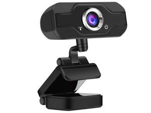 EDTREE 1080P Full HD Webcam USB Desktop & Laptop Webcam Live Streaming Web Camera with Microphone for Video Calling