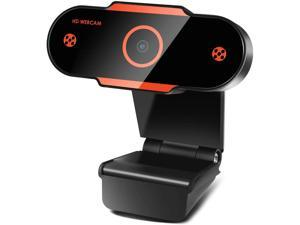 JELUMP 2020 2K Webcam with Microphone for Live Streaming Gaming Distance Meeting Video Record.Compatible with Windows for Mac Laptop PC.The Webcam Apply to Conference Video Calls Zoom Meeting
