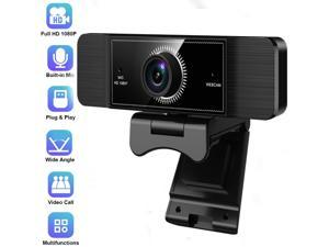 1080P Full HD Webcam for PC or Laptop Video Calling USB Web Cam with Microphone