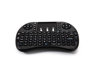 Mini Wireless Keyboard, UHOMEPRO 2.4 GHz Wireless Mini Handheld Remote Control Keyboard, Rechargeable Battery,  Widely Compatibility, Mini keyboard for TV, Mobile Phone, PS3, Etc