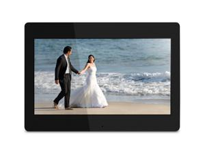"""14"""" Digital Photo Frame with Automatic Slideshow and 4GB Built-in Memory (1600 x 900 Resolution, 16:9 Aspect Ratio)"""