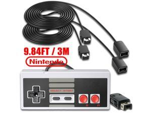 Nintendo NES Classic Mini Edition Carry Bag Gamepad Controller 2 PCS 3m Extension Cables