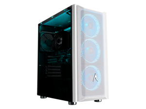 Allied Gaming Patriot Desktop PC: AMD Ryzen 5 3600, AMD RX 6700XT 12GB, 8GB DDR4 3200MHz, 512GB PCI-E NVMe SSD, B450M Mortar Motherboard, 750 Watt Power Supply, ARGB Fans, WiFi Ready