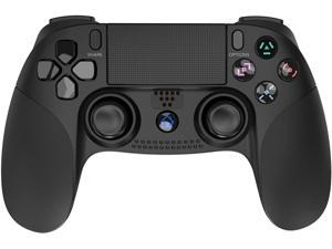 PS4 Controller Wireless Bluetooth for Playstation 4, Game Controller Joystick Gamepad Touch Panel Gamepad for PS4/PS4 Slim/Pro/PS3(Black)