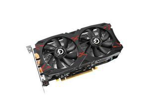 RADEON RX 5500 XT 8G D6 Graphics Card, 8GB 128-bit GDDR6, Support PCI Express 4.0, 1717MHz Core Frequency and 14000MHz Memory Frequency, 1×HDMI, 3×DisplayPort