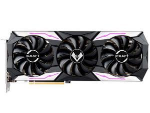 GEFORCE RTX 3060Ti iCraft OC 8G S1 LHR Graphics Card,8GB 256-Bit GDDR6, NVIDIA Chip Support PCI Express 4.0,1410 Core Frequency and 14000MHz Video Memory Frequency