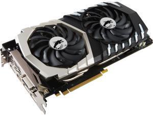 MSI GeForce GTX 1070 Ti DirectX 12 GTX 1070 Ti Titanium 8G 8GB 256-Bit GDDR5 PCI Express 3.0 x16 HDCP Ready SLI Support ATX Video Card