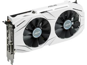 ASUS GeForce GTX 1060 DUAL-GTX1060-O6G 6GB 192-Bit GDDR5 PCI Express 3.0 HDCP Ready Video Card