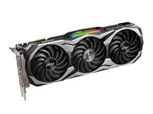 MSI Geforce RTX 2070 SUPER DUKE 8GB GDDR6 256-bit DisplayPort x 3 (v1.4) / HDMI 2.0b x 1 / USB Type-C x 1 14 Gbps 7680x4320 8-pin x 1, 6-pin x 1 12 API