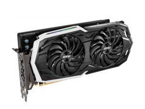 MSI GeForce RTX 2070 ARMOR 8G GDDR6 256-bit PCI Express x16 3.0 DisplayPort x 3 (v1.4) / HDMI 2.0b x 1 / USB Type-C x 1 175 W 8-pin x 1, 6-pin x 1 7680x4320