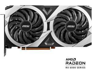 MSI Radeon RX 6700 XT DirectX 12 Ultimate RX 6700 XT MECH 2X 12G OC 12GB 192-Bit GDDR6 PCI Express 4.0 x16 HDCP Ready Video Card
